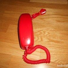 Teléfonos: TELÉFONO CITESA VINTAGE GÓNDOLA SOBREMESA COLOR ROJO AÑOS 60 70. Lote 132828982