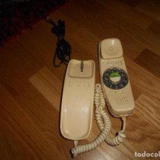 Teléfonos: TELÉFONO GÓNDOLA CITESA MÁLAGA COLOR MARFIL MARCADOR RUEDA AÑOS 60 70. Lote 132829350
