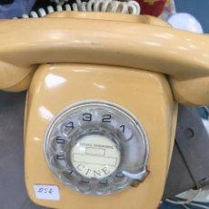 Teléfonos: TELÉFONO FIJO HERALDO CTNE COLOR CREMA OFERTA. Lote 132898097