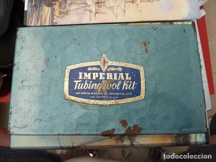 SET HERRAMIENTAS IMPERIAL TUBINQ TOOL KIT - THE IMPERIAL BRASS MFG - USA (Antigüedades - Técnicas - Herramientas Antiguas - Otras profesiones)
