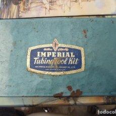 Antigüedades - SET HERRAMIENTAS IMPERIAL TUBINQ TOOL KIT - THE IMPERIAL BRASS MFG - USA - 132923406