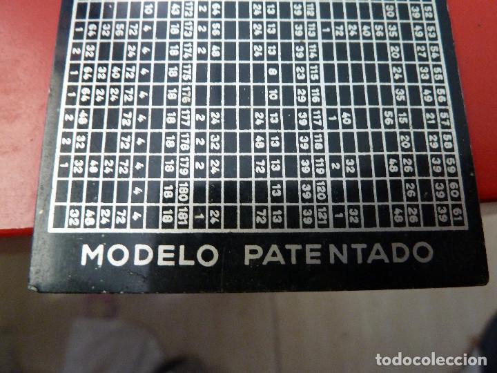 Antigüedades: TABLA DE CALCULO - Foto 2 - 132935114