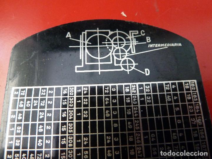 Antigüedades: TABLA DE CALCULO - Foto 6 - 132935114