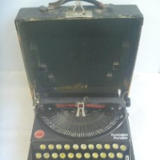 Antigüedades: ANTIGUA MAQUINA DE ESCRIBIR REMINGTON PORTABLE, MADE IN USA. AÑOS 20. Lote 156592938