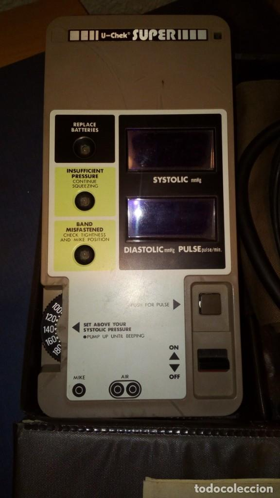 Antigüedades: Digital Blood Pressure Measuring Unit Brethren Corporation U-Chek Super TM-101 - Foto 2 - 133050086