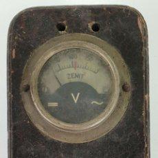 Antigüedades: AUTOTRANSFORMADOR ZENIT. ELEVADOR Y REDUCTOR DE VOLTAJE. CIRCA 1950. . Lote 133127222