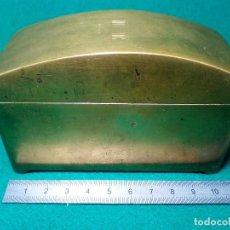 Antigüedades: ANTIGUO GOMERO DE BRONCE. Lote 133140882