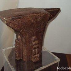 Antigüedades: YUNQUE S.XVI COSTILLAS Y GRABADOS. Lote 133234846