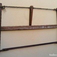 Antigüedades: ANTIGUA SIERRA DE CARPINTERO, MUY BUEN ESTADO.. Lote 133250210
