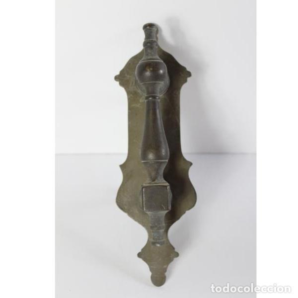 ANTIGUO LLAMADOR DE BRONCE (Antigüedades - Técnicas - Cerrajería y Forja - Llamadores Antiguos)