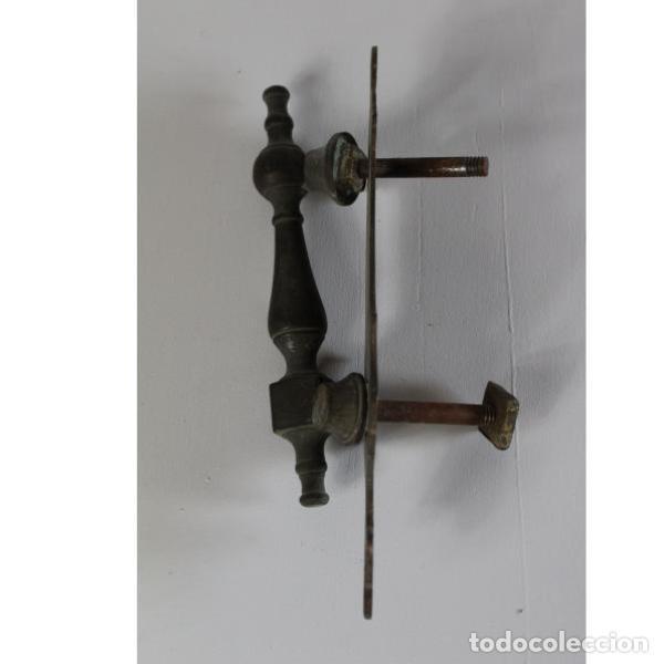 Antigüedades: Antiguo llamador de bronce - Foto 2 - 133294858