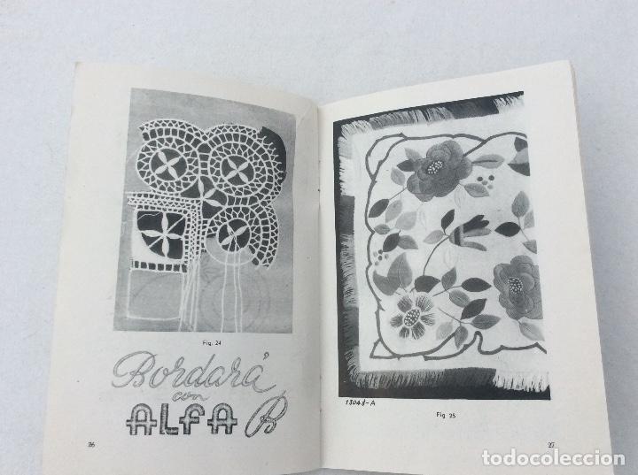 Antigüedades: Libro de instrucciones para maquina de coser alfa - Foto 3 - 218101015