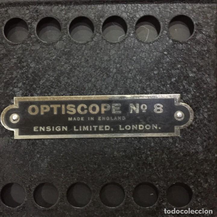 Antigüedades: OPTISCOPE N 8 - Foto 24 - 133299118