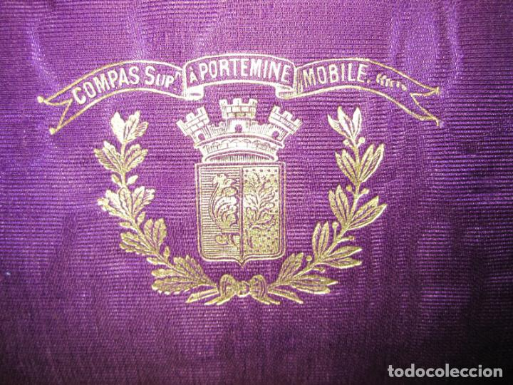 Antigüedades: PRECIOSA CAJA DE COMPASES E INSTRUMENTOS DE DIBUJO DEL S. XIX. EN BRONCE Y HUESO. CAJA ORIGINAL - Foto 2 - 133307430