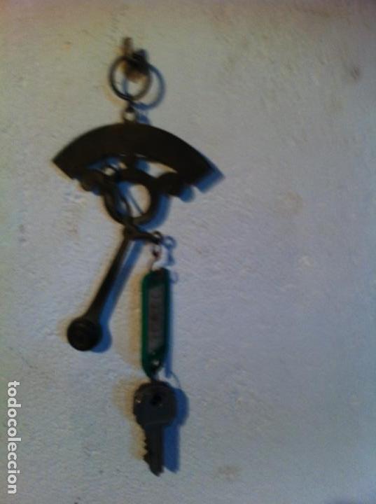 Antigüedades: PEQUEÑA RARISIMA BALANZA DE BRONCE 100 g - Foto 3 - 109362663