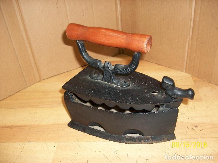 Antigüedades: PLANCHA A CARBON-REPRODUCCION - Foto 2 - 214358523