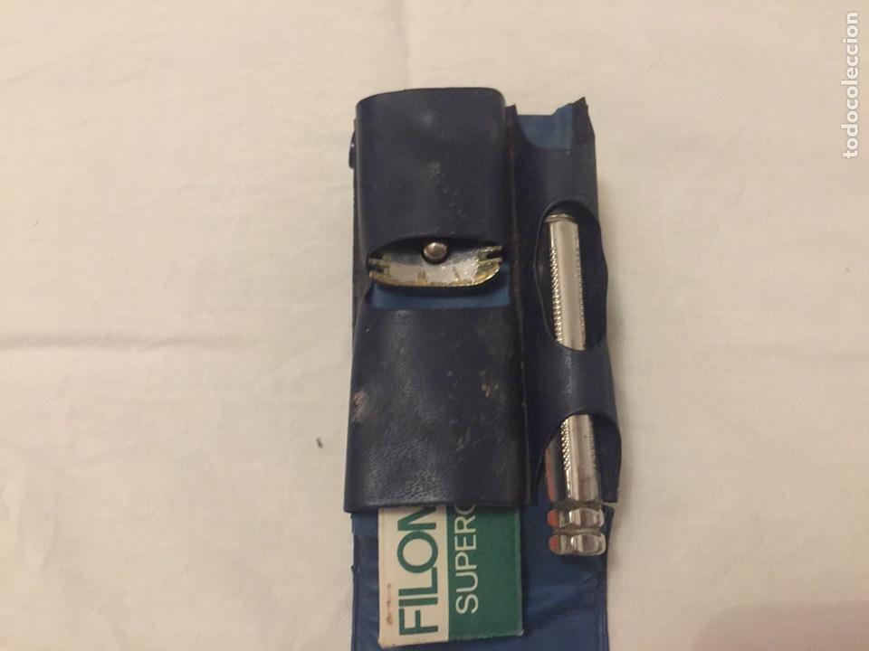 Antigüedades: Kit de Maquinilla de afeitar de viaje - Foto 3 - 133425254