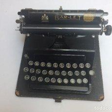 Antigüedades: MÁQUINA ESCRIBIR BAR-LET 2 (1936-37). Lote 133438438
