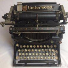 Antigüedades: MÁQUINA ESCRIBIR UNDERWOOD 5 (1928). Lote 133446814