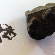Antigüedades: ANTIGUO SELLO ESTAMPACION TEXTIL DE LA INDIA TALLA EN MADERA -VER FOTOS-. Lote 133454066