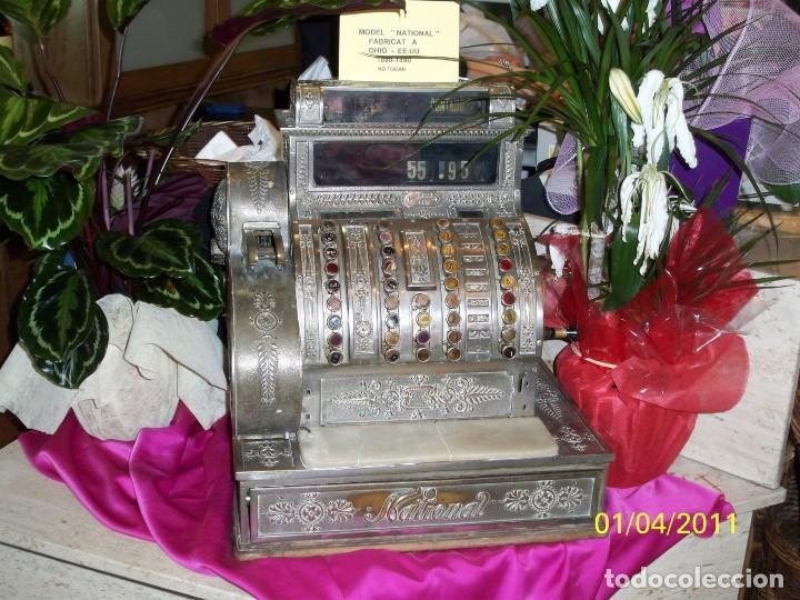 Antigüedades: registradora NATIONAL - Foto 2 - 133490190