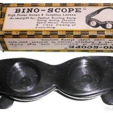 Antigüedades: 1950 - BINOCULARES BINO-SCOPE ''NOVELTY'' CON GAFAS DE SOL . MUY VINTAGE. Lote 133535614