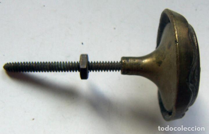 Antigüedades: ANTIGUO TIRADOR PARA MUEBLE DE BRONCE - Foto 2 - 133539526