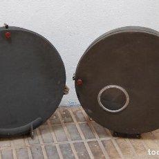 Antigüedades: BOMBOS DE PELÍCULAS PARA PROYECTOR DE CINE 35 MM HISPANIA CINEMATÓGRAFO. Lote 133540618