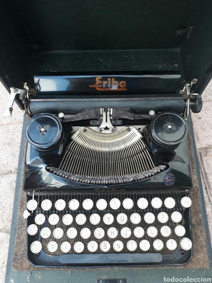 MÁQUINA DE ESCRIBIR ERIKA PORTÁTIL (MUY BUEN ESTADO) (Antigüedades - Técnicas - Máquinas de Escribir Antiguas - Erika)