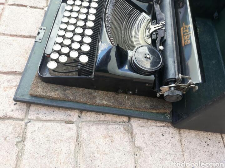 Antigüedades: Máquina de Escribir ERIKA portátil (Muy buen estado) - Foto 2 - 133626946