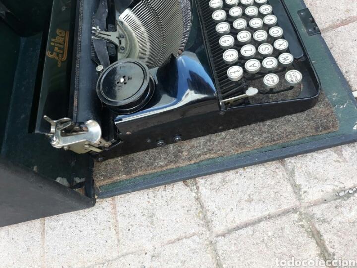 Antigüedades: Máquina de Escribir ERIKA portátil (Muy buen estado) - Foto 3 - 133626946