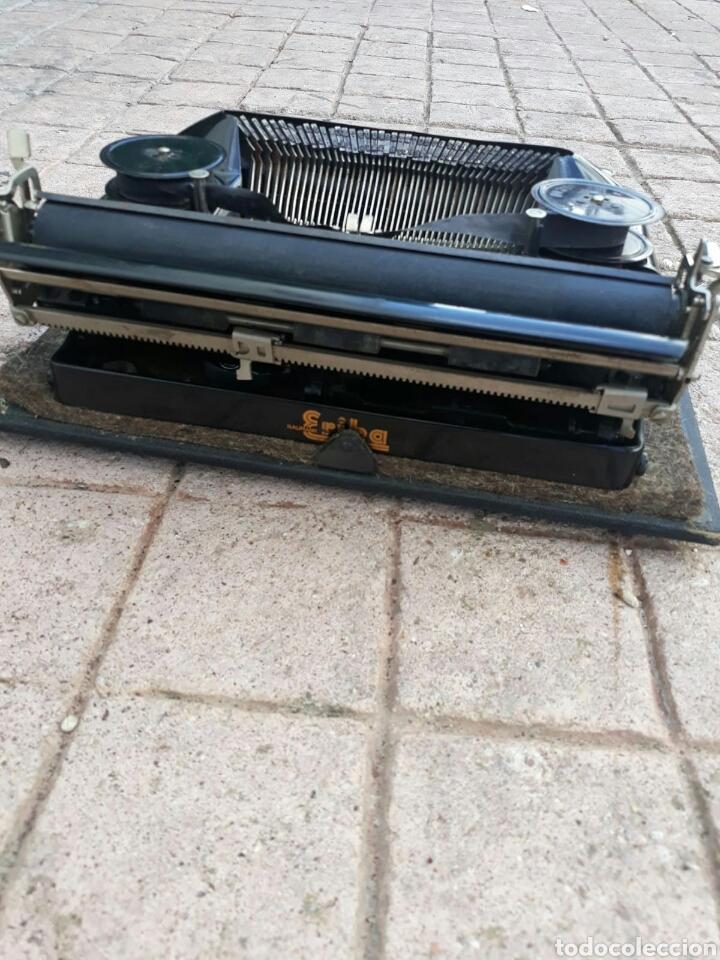 Antigüedades: Máquina de Escribir ERIKA portátil (Muy buen estado) - Foto 5 - 133626946