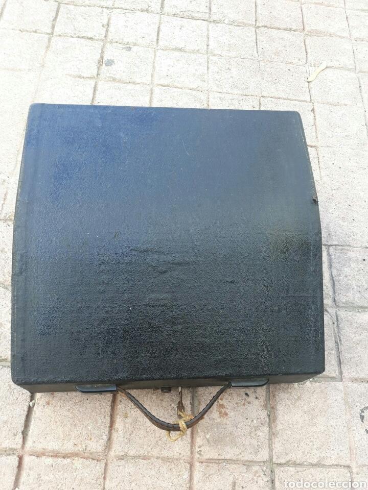 Antigüedades: Máquina de Escribir ERIKA portátil (Muy buen estado) - Foto 7 - 133626946