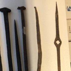 Antigüedades: CLAVOS ANTIGUOS-11 CLAVOS ANTIGUOS (9€-UND)-8 CLAVOS(72€). Lote 133643122