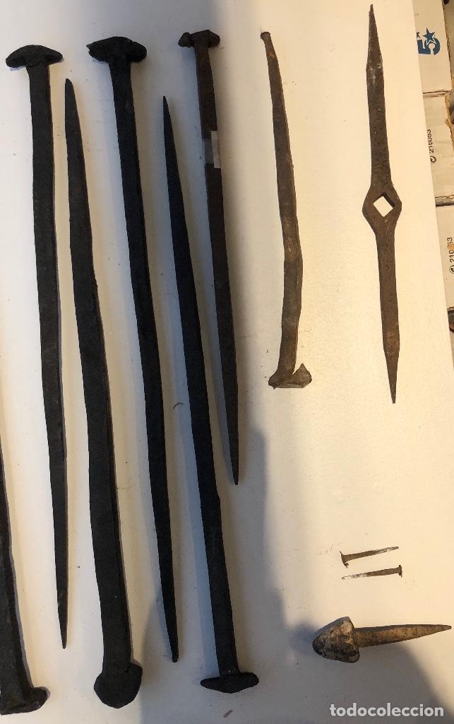 CLAVOS ANTIGUOS-11 CLAVOS ANTIGUOS (9€-UND)-10 CLAVOS(90€) (Antigüedades - Técnicas - Cerrajería y Forja - Clavos Antiguos)