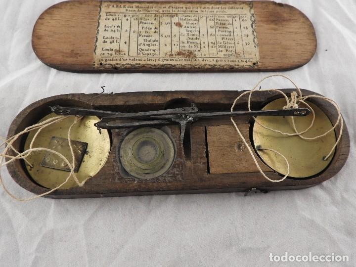 Antigüedades: ANTIGUA CAJA DE PONDERALES S. XIX - Foto 2 - 133651750