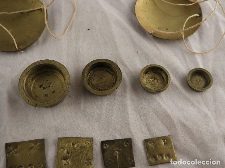 Antigüedades: ANTIGUA CAJA DE PONDERALES S. XIX - Foto 6 - 133651750