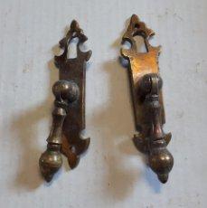 Antiquités: 2 TIRADORES DE MUEBLE. Lote 133707878