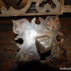 Antigüedades: CLAVO RENACENTISTA DEL XVIII HIERRO FORJADO Y TALLADO . Lote 133726050