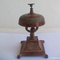 Antigüedades: TIMBRE O LLAMADOR DE RECEPCIÓN DE HOTEL, MOSTRADOR DE TIENDA O COMERCIO, AVISADOR DE SOBREMESA. Lote 133761138