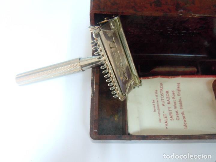 Antigüedades: Maquinilla afeitar Valet Auto Strop - Foto 5 - 133820022