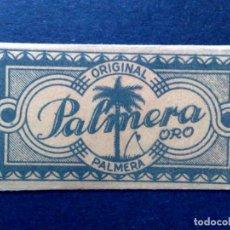 Antigüedades: HOJA DE AFEITAR ANTIGUA,PALMERA ORO Nº60,ORIGINAL PALMERA (PTAS 0,85) JUAN VOLLMER (DESCRIPCIÓN). Lote 133913554