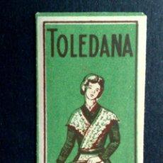 Antigüedades: HOJA DE AFEITAR ANTIGUA,TOLEDANA-TEMPLE DE TOLEDO,GIRO CABEZA DERECHA (DESCRIPCIÓN. Lote 133914450