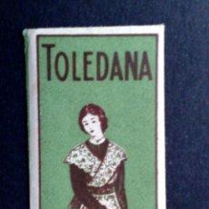 Antigüedades: HOJA DE AFEITAR ANTIGUA,TOLEDANA-TEMPLE DE TOLEDO,GIRO CABEZA IZQUIERDA (DESCRIPCIÓN. Lote 133914518