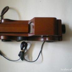 Teléfonos: TELEFONO CAJA DE MUSICA MADERA. Lote 133943322