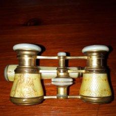 Antigüedades: ANTIGUOS BINOCULARES EXTENSIBLES DE ÓPERA. Lote 133970283