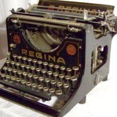 Antigüedades: MÁQUINA ESCRIBIR REGINA VII (1923). Lote 133981019