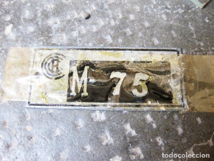 Antigüedades: Curvascopio. Medir el radio de curvas en carreteras y caminos. Valladolid. Inventor Espejo-Saavedra. - Foto 4 - 134040406