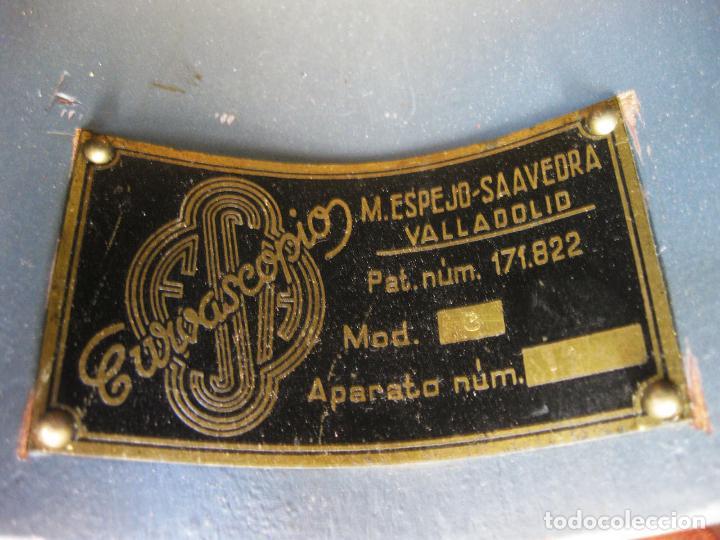 Antigüedades: Curvascopio. Medir el radio de curvas en carreteras y caminos. Valladolid. Inventor Espejo-Saavedra. - Foto 3 - 134040406