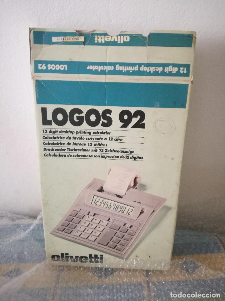 Antigüedades: Calculadora Casio - Calculadora olivetti - Foto 6 - 134087650